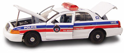 #27207 - 1/43rd scale Toronto, Ontario, Canada Police Ford Crown Victoria