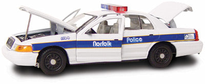 #27218 - 1/43rd scale Norfolk, Virginia Police Ford Crown Victoria