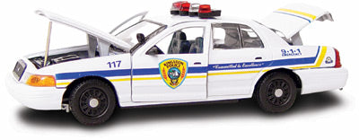 #27219 - 1/43rd scale Kingston, New York Police Ford Crown Victoria