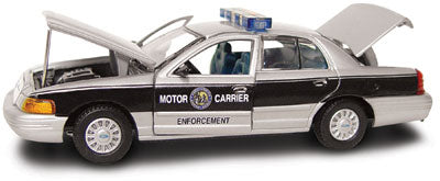 #27222 - 1/43rd scale North Carolina Highway Patrol Motor Carrier Enforcement Ford Crown Victoria