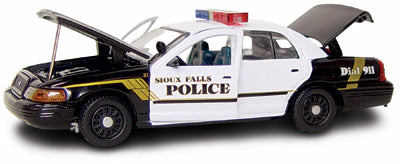 #27223 - 1/43rd scale Sioux Falls, South Dakota Police Ford Crown Victoria