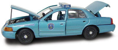 #27225 - 1/43rd scale Maine State Police Ford Crown Victoria