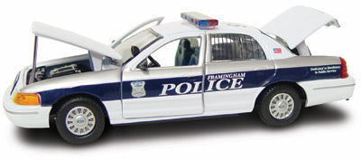 #27226 - 1/43rd scale Framingham, Massachusetts Police Ford Crown Victoria