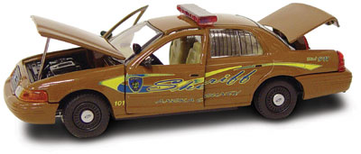 #27229 - 1/43rd scale Anoka County, Minnesota Sheriff Ford Crown Victoria