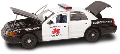 #27230 - 1/43rd scale Waterloo, Iowa Police Ford Crown Victoria