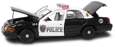 #27231 - 1/43rd scale Farmers Branch, Texas Police Ford Crown Victoria