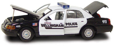 #27235 - 1/43rd scale Bellingham, Washington Police Ford Crown Victoria