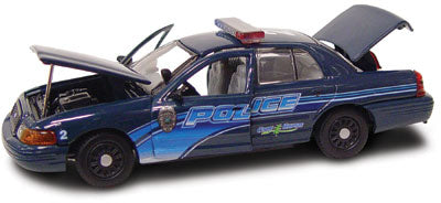 #27237 - 1/43rd scale Coon Rapids, Minnesota Police Ford Crown Victoria