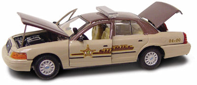#27238 - 1/43rd scale Vanderburgh County, Indiana Sheriff Ford Crown Victoria