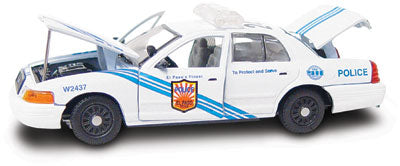 #27249 - 1/43rd scale El Paso, Texas Police Ford Crown Victoria