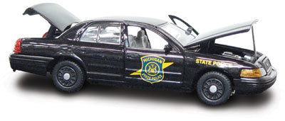 #27250 - 1/43rd scale Michigan State Police Ford Crown Victoria