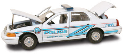 #27260 - 1/43rd scale Lavonia, Georgia Police Ford Crown Victoria
