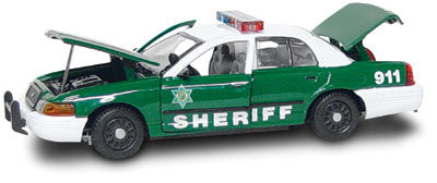 #27265 - 1/43rd scale Spokane County, Washington Sheriff Ford Crown Victoria