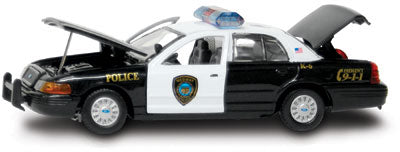 #27270 - 1/43rd scale Medway, Massachusetts Police Ford Crown Victoria