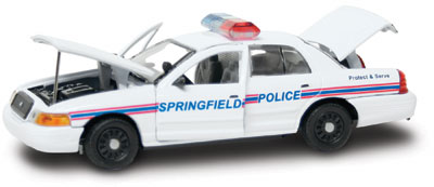 #27272 - 1/43rd scale Springfield, Illinois Police Ford Crown Victoria