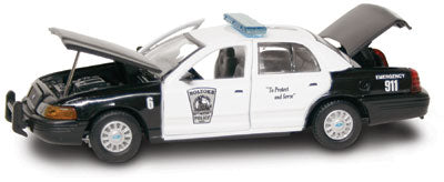 #27273 - 1/43rd scale Holyoke, Massachusetts Police Ford Crown Victoria