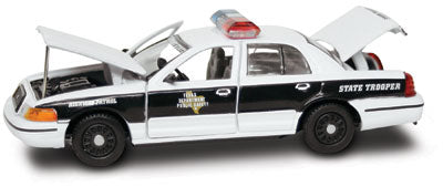 #27274 - 1/43rd scale Texas Department of Public Safety Ford Crown Victoria (1998 experimental graphics)