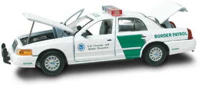 #27286 - 1/43rd scale United States Border Patrol Ford Crown Victoria