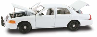 #27293 - 1/43rd scale Blank White Slicktop Ford Crown Victoria