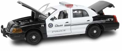 #27297 - 1/43rd scale Glendale, California Police Ford Crown Victoria