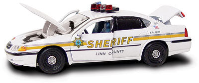 #27301 - 1/43rd scale Linn County, Iowa Sheriff Chevrolet Impala