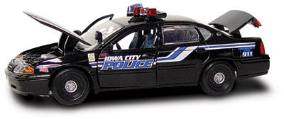 #27302 - 1/43rd scale Iowa City, Iowa Police Chevrolet Impala