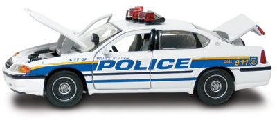 #27317 - 1/43rd scale White Plains, New York Police Chevrolet Impala