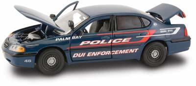 #27324 - 1/43rd scale Palm Bay, Florida Police DUI Enforcement Chevrolet Impala