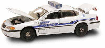#27326 - 1/43rd scale Greer, South Carolina Police Chevrolet Impala