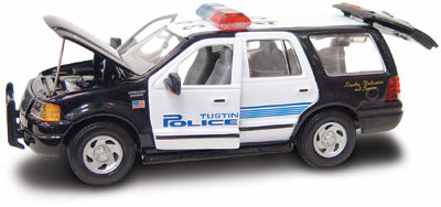 #27604 - 1/43rd scale Tustin, California Police Ford Expedition