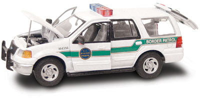 #27610 - 1/43rd scale United State Border Patrol Ford Expedition
