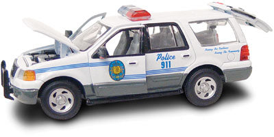 #27612 - 1/43rd scale Kodiak, Alaska Police Ford Expedition