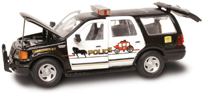 #27615 - 1/43rd scale Deadwood, South Dakota Police Ford Expedition