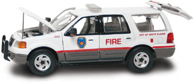 #27616 - 1/43rd scale White Plains, New York Fire Department Ford Expedition