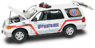 #27624 - 1/43rd scale Marion, Iowa Fire Department Ford Expedition