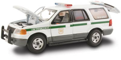 #27625 - 1/43rd scale United States Forest Service Law Enforcement Ford Expedition