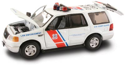 #27631 - 1/43rd scale United States Coast Guard Law Enforcement Ford Expedition