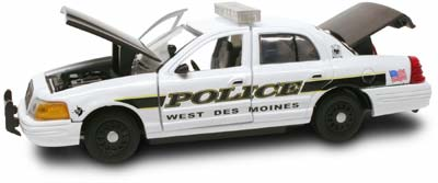 #27801 - 1/43rd scale West Des Moines, Iowa Police Ford Crown Victoria