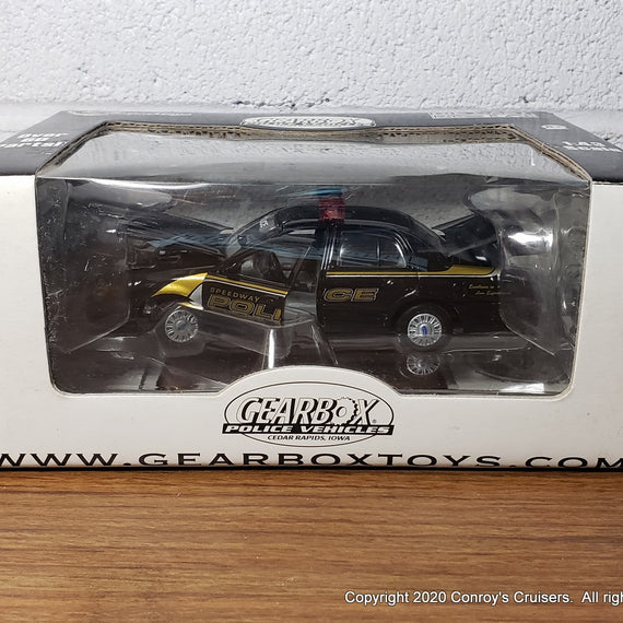 #27294 - 1/43rd scale Speedway, Indiana Police Ford Crown Victoria UNSTAMPED BOX