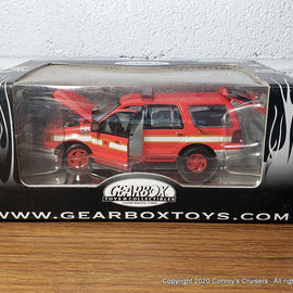 #27618 - 1/43rd scale Boston, Massachusetts Fire Department Ford Expedition