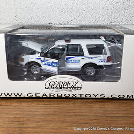 #27621 - 1/43rd scale Melbourne Beach, Florida Police Ford Expedition