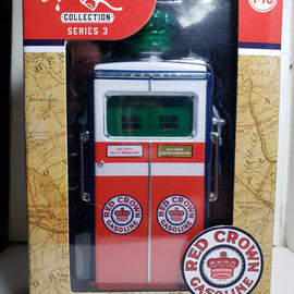 #14030-C 1/18th scale Red Crown 1954 Tokheim 350 Gas Pump replica ***GREEN MACHINE***