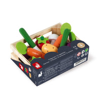 Wooden Play Vegetable Crate - Mucky Knees Gift Boutique