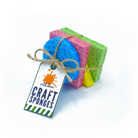 Biodegradable Craft Sponges: Pack of 4 - Mucky Knees Gift Boutique