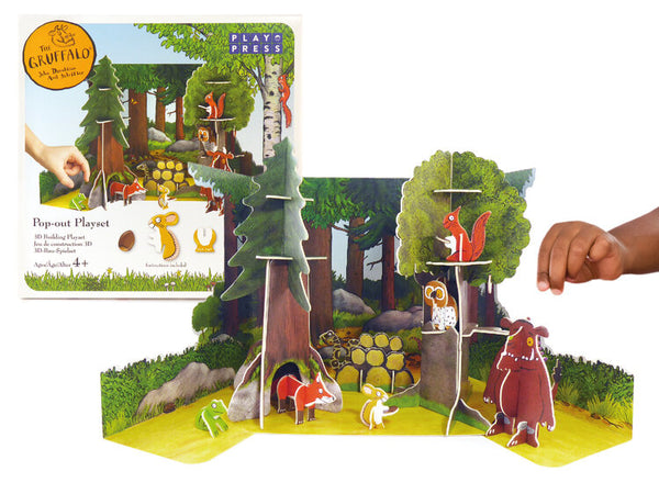 The Gruffalo Pop-out Play Set - Mucky Knees Gift Boutique