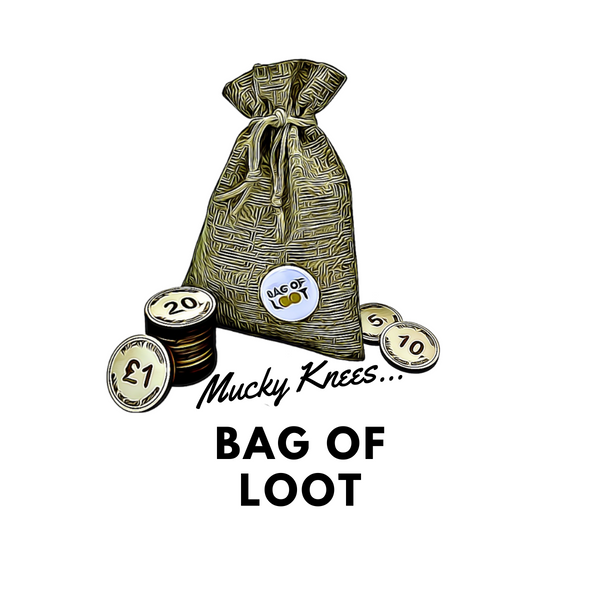 Bag of loot - Mucky Knees Gift Boutique