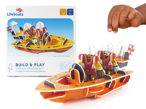 RNLI Lifeboat Eco Friendly Play Set - Mucky Knees Gift Boutique