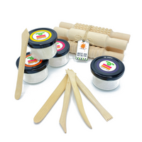 Mucky-Doh Wooden Rolling Pin Gift Set