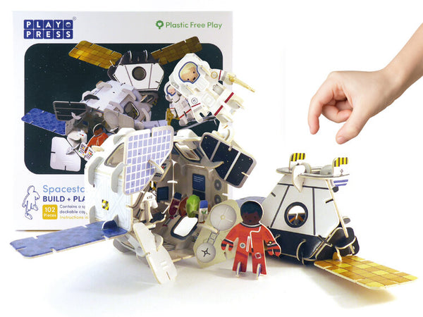 Space Station Eco Friendly Play Set - Mucky Knees Gift Boutique