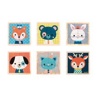My First Blocks: Wooden Forest Portraits - Mucky Knees Gift Boutique